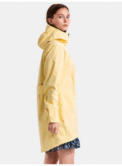 DIDRIKSONS 1913  Didriksons Folka Womens Parka - Light Yellow