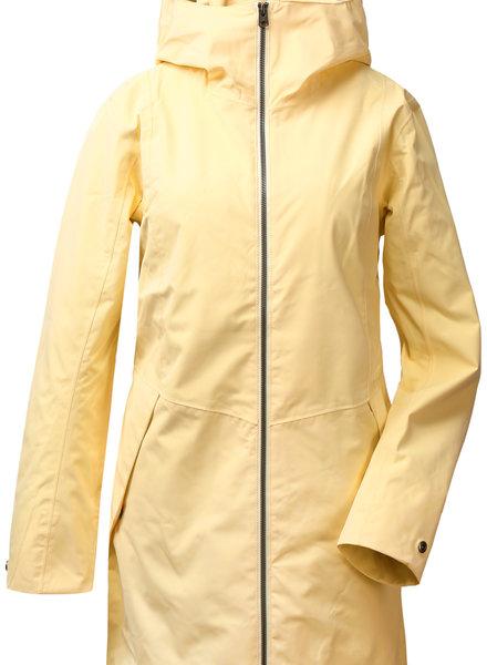 DIDRIKSONS 1913  Didriksons Folka Womens Parka - Light Yellow