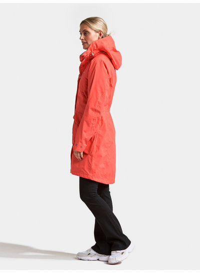 DIDRIKSONS 1913  Didriksons Womens Thelma Coat - Coral Red