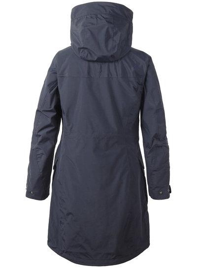 DIDRIKSONS 1913  Didriksons Womens Thelma Coat - Dark Night Blue