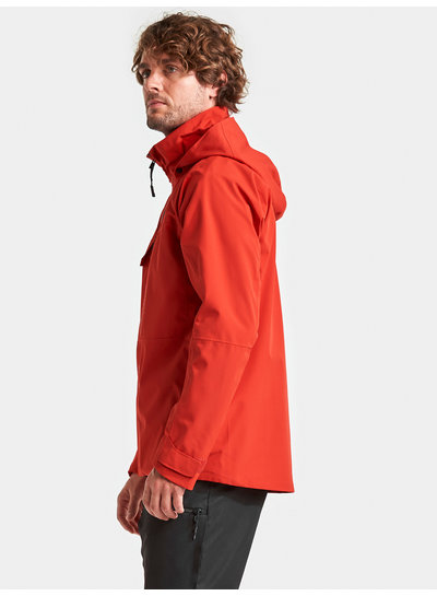 DIDRIKSONS 1913  Didriksons Mens Aston Jacket - Lava Red