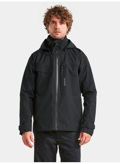 DIDRIKSONS 1913  Didriksons Mens Aston Jacket - Black