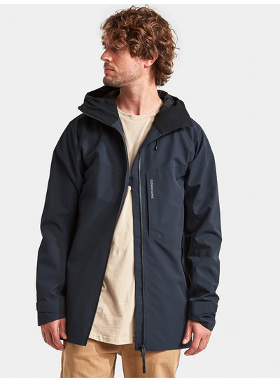 DIDRIKSONS 1913  Didriksons Mens Melvin Parka - Dark Night Blue