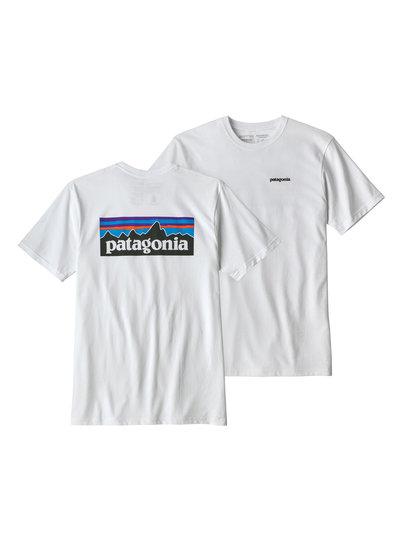 Patagonia  Patagonia Men's P-6 Logo Responsibili-Tee - White