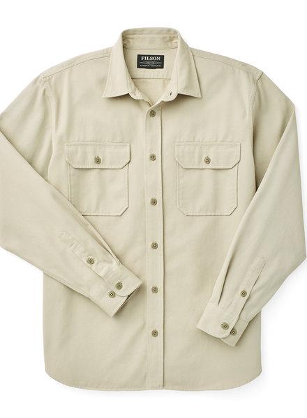 FILSON  FILSON Chino Twill  Shirt - Twine