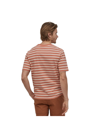 Patagonia  Patagonia Men's Organic Cotton Midweight Pocket Tee - Melon