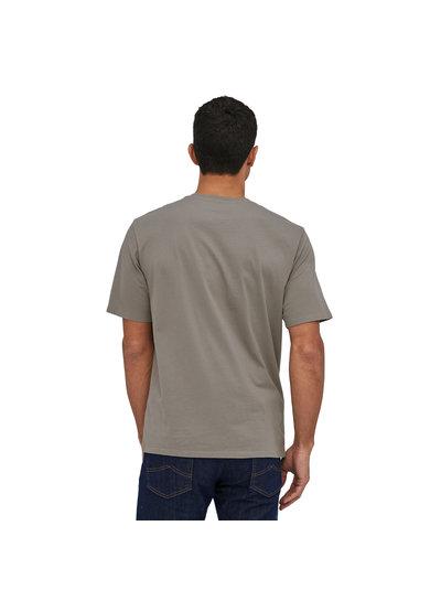 Patagonia  Patagonia Mens Fitz Roy Scope Organic Cotton T-Shirt - Grey