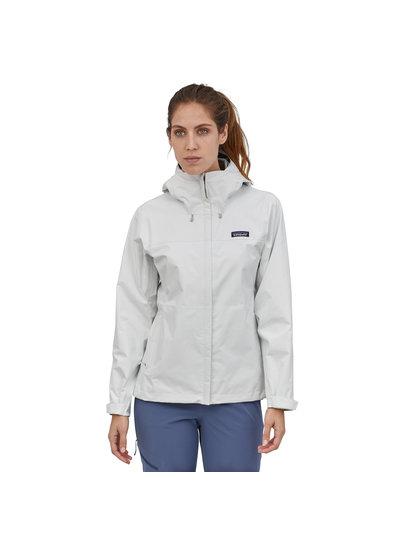 Patagonia  Patagonia Womens Torrentshell 3 L Jacket - Birch White