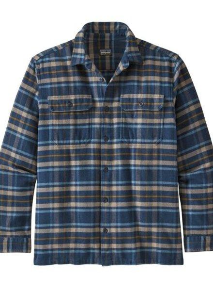 Patagonia  Patagonia Mens Fjord Flannel Shirt - New Navy