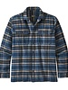 Patagonia  Patagonia Mens Fjord Flannel Shirt - New Navy