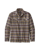 Patagonia  Patagonia Mens Fjord Flannel Shirt - Forge Grey
