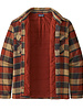 Patagonia  Patagonia Mens Insulated Fjord Flannel Jacket - Red
