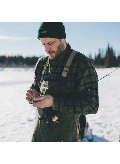 FILSON  FILSON  Field Flannel Shirt - Dark Moss