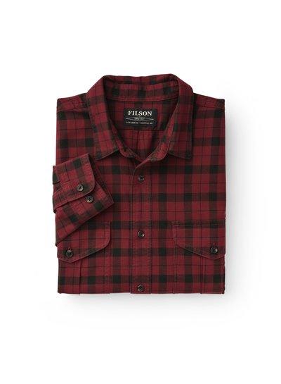 FILSON  FILSON Lightweight Alaskan Guide Shirt - Oxblood Red
