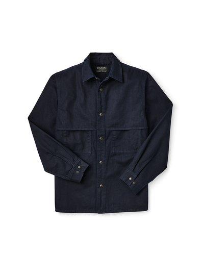 FILSON  FILSON Herringbone Jac - Shirt -  Nightsky