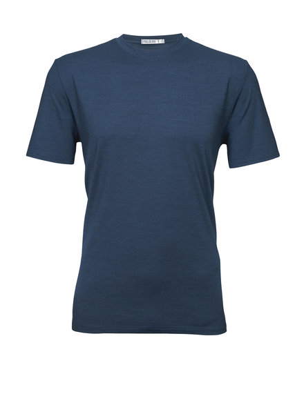 Palgero Palgero Ari Merino Shirt Herren - Blau Meliert