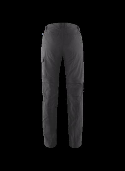 Fjällräven  FJÄLLRÄVEN Mens Travellers MT Zip Off Trouser - Dark Grey