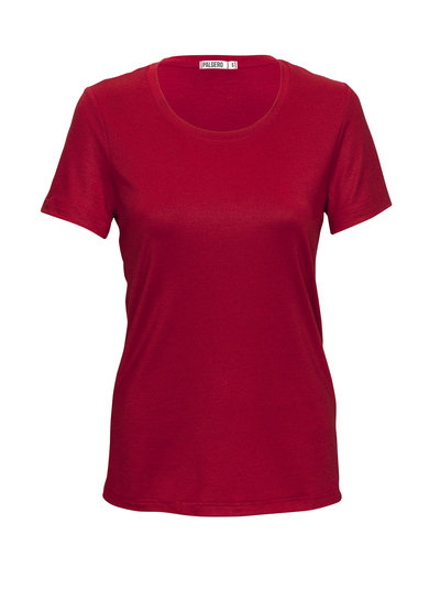 Palgero Palgero Birta Merino Shirt Damen - Rot