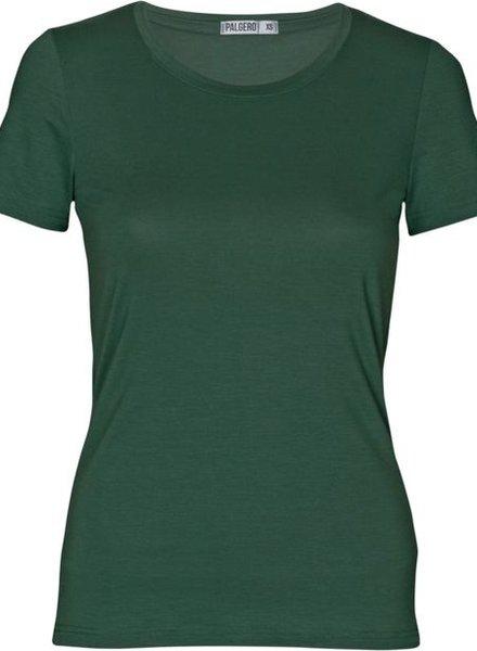 Palgero Palgero Birta Merino Shirt Damen - Thymian Grün