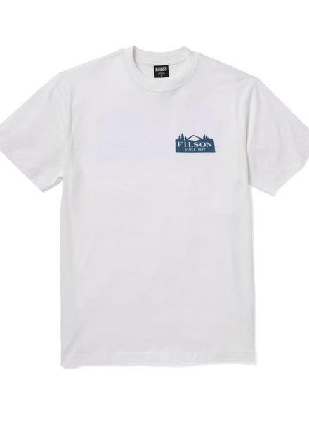 FILSON  FILSON Ranger Graphic T- Shirt - Bright White