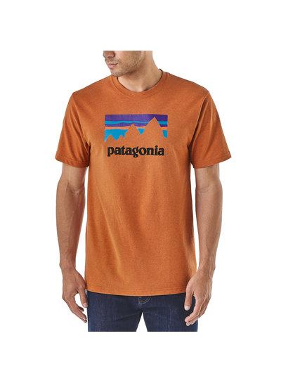 Patagonia  Patagonia Men's Shop Sticker Responsibili-Tee - Blue
