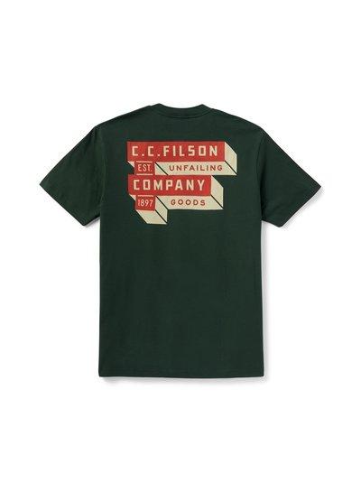 FILSON  FILSON Ranger Graphic T- Shirt - Firblock