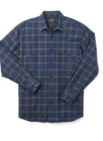 FILSON  FILSON Lightweight Alaskan Guide Shirt - Navy Grey