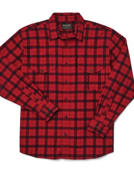 FILSON  FILSON Lightweight Alaskan Guide Shirt - Red Black