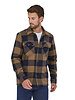 Patagonia  Patagonia Mens Insulated Fjord Flannel Shirt - Timber Brown