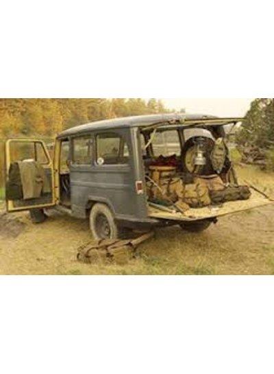 FILSON  FILSON Beartooth Camp Jacket - Black Grey Plaid