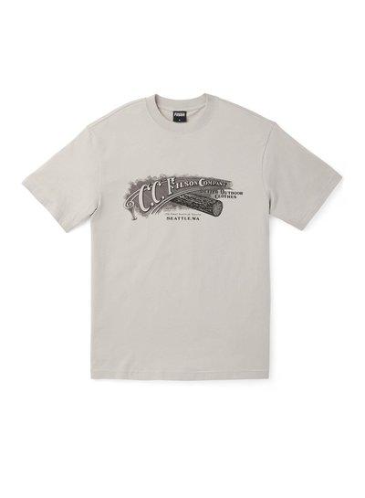 FILSON  FILSON Ranger Graphic T- Shirt - Fog Script