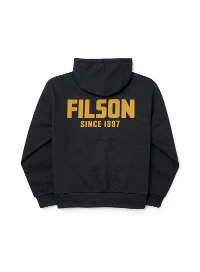 FILSON  FILSON Prospector Graphic Full Zip Hoody - Black