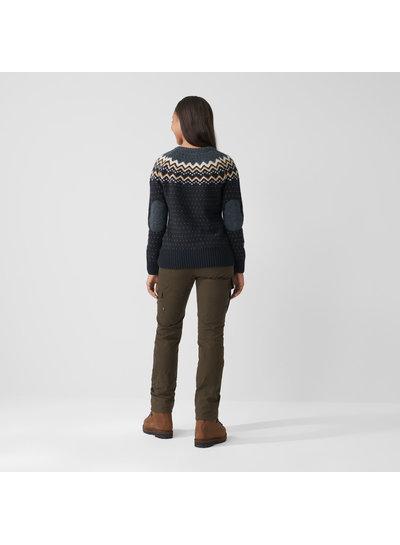 Fjällräven  FJÄLLRÄVEN Womens Övik Knit Sweater - Dark Navy