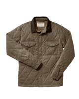 FILSON  FILSON Hyder Quilted Jac Shirt -  Tan