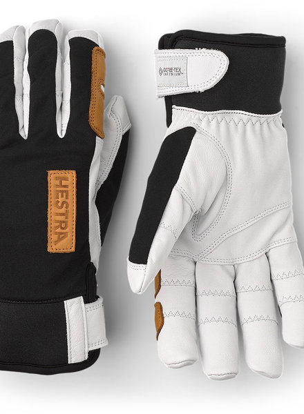 Hestra  HESTRA Ergo Grip Active Woolterry Finger Unisex - Black White