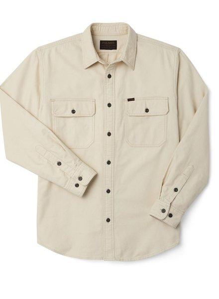 FILSON  FILSON  Field Flannel Shirt - Natural