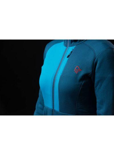 Norrona Norrona W's Narvik Warm 2 Stretch Zip Hood - Beyond Blue
