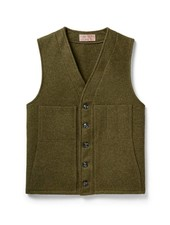 FILSON  FILSON Mackinaw Wool Vest - Forest Green