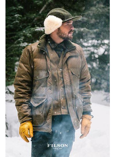 FILSON  FILSON Mackinaw Wool Vest - Forest Green