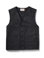 FILSON  FILSON Mackinaw Wool Vest - Charcoal