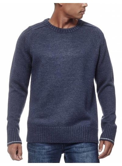 Icebreaker  ICEBREAKER M's Spire Long Sleeve Crewe Mens Merino - Fathom Heather