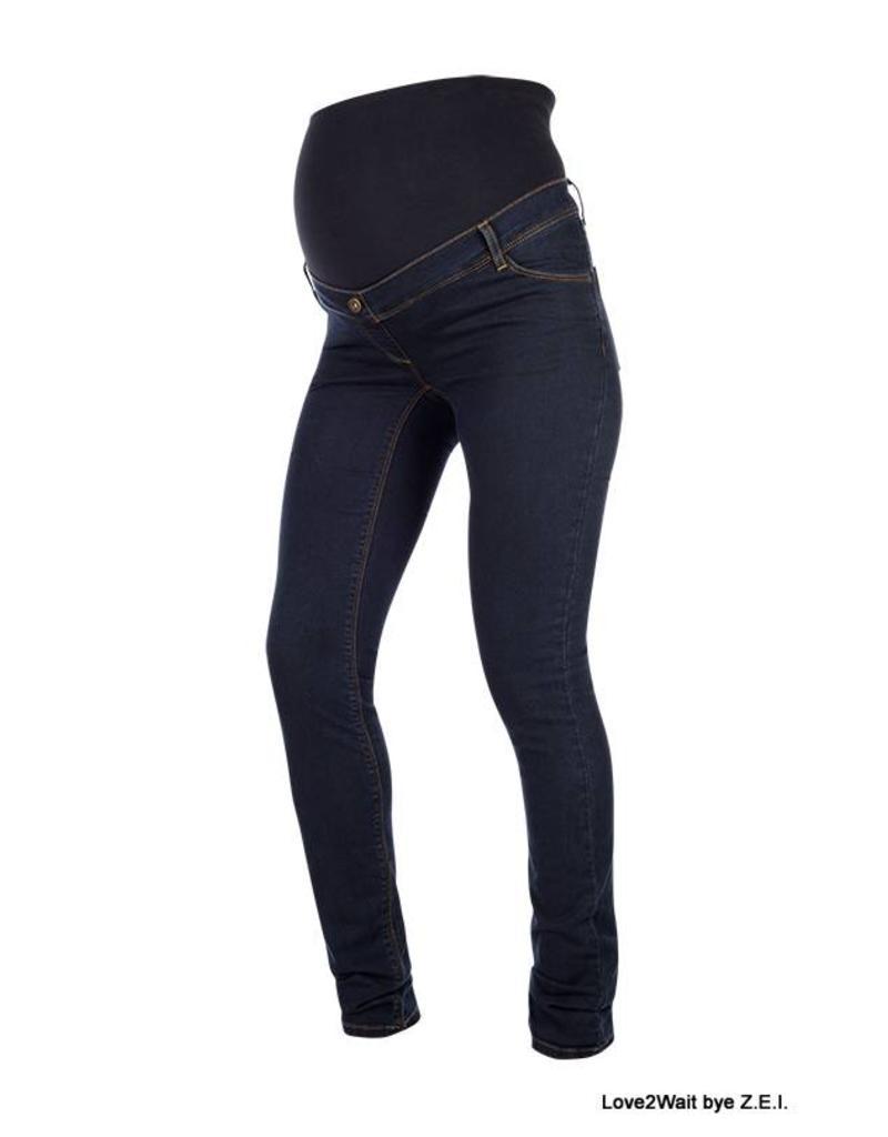 Love2Wait Love2Wait Plussize Skinny Jeans Sophia Dark B999019 022 +