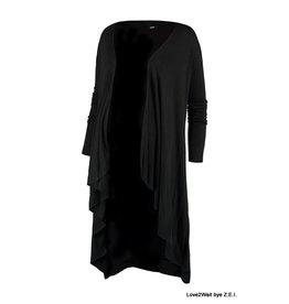 Love2Wait Love2Wait Vest / Cardigan zwart