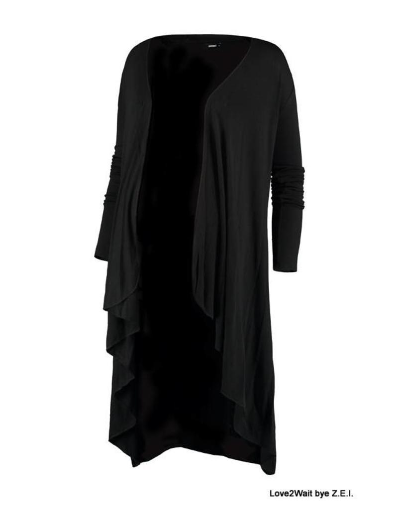 Love2Wait Love2Wait Vest / Cardigan zwart B999060 004