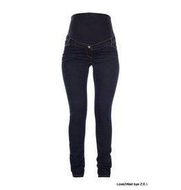 Love2Wait Love2Wait Plussize Skinny Jeans Sophia Dark Blue
