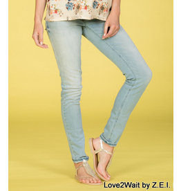 Love2Wait Love2Wait Skinny Jeans Sophia light wash