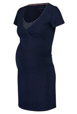 Noppies Noppies voedings pyjama Suzy donker blauw 90N4415