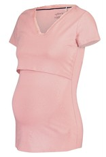 Noppies Noppies voedings pyjamashirt Floor roze 90N4411