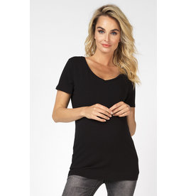 Noppies Noppies Shirt V-hals Rome zwart