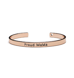 Proud Mama Proud Mama Bangle Bracelet Roze